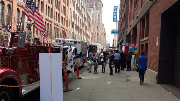 safe kids day event in Meat Packing district