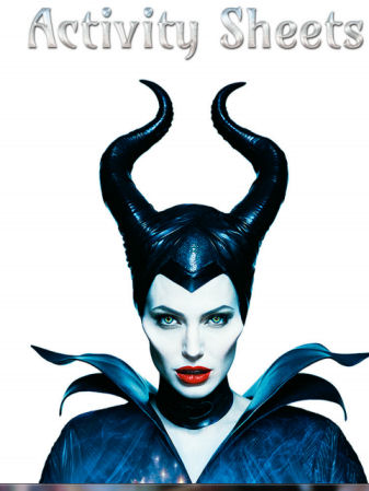 MALEFICENT - Activity Sheets