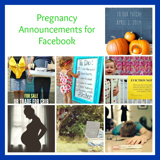 10 Cute Pregnancy Announcement Ideas for Facebook