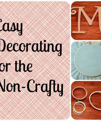 Easy Decorating Idea Perfect for Non-Crafty People