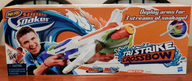 Nerf Tri Strike Crossbow