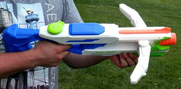 Tri Strike Blast Arms