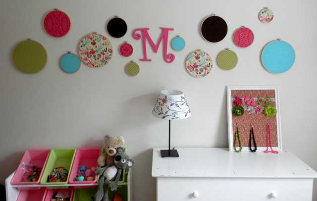 Decorated Wall and Room