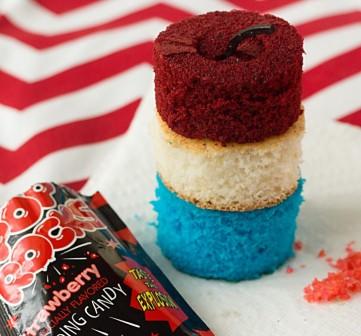firecracker cupcakes