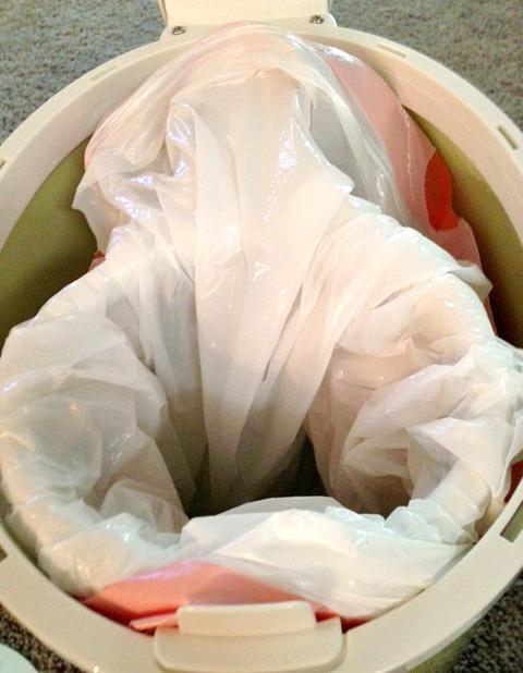 diaper pail trash bag