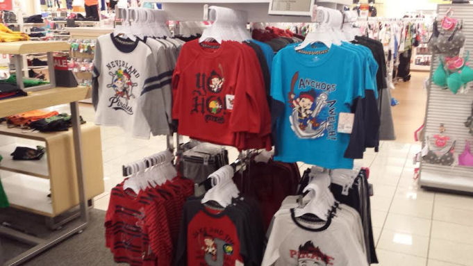 Jake the Never Land Pirates clothing at kohls