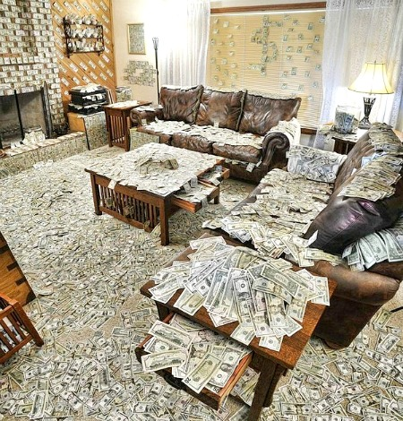 Roomful of Cash