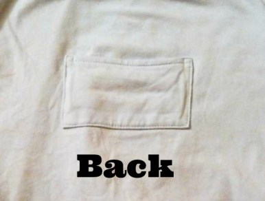 back swaddle