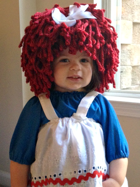 Raggedy Ann Costume  sc 1 st  I Love My Kids Blog & Yumbaby Raggedy Ann Wig Review
