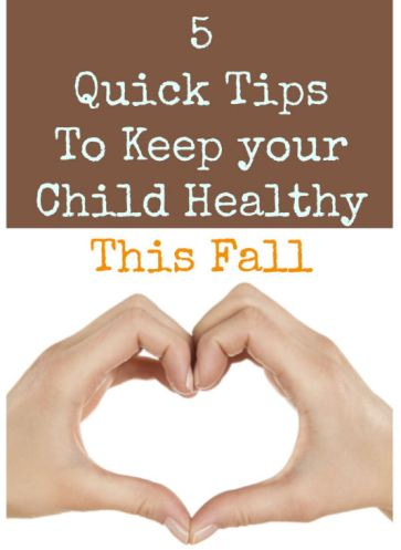 tips to keep your child healthy