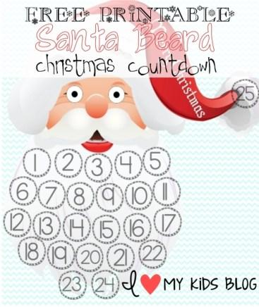 Christmas Countdown Santa Beard.Merry.Christmas-resizedfree