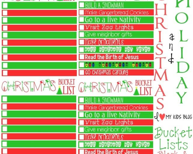 Christmas printable-bucketlist-collage