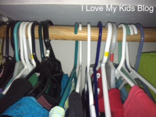 Hang hangers backwards to keep track of clothes you wore