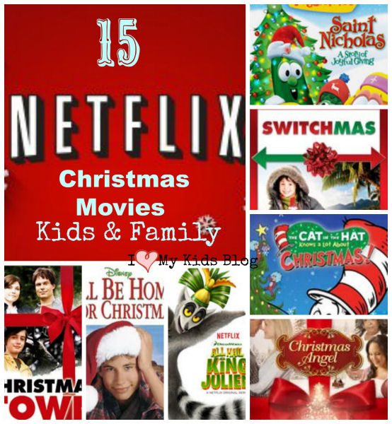Kid Freiendly Christmas movies on Netflix
