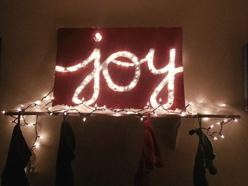 diy Joy sign