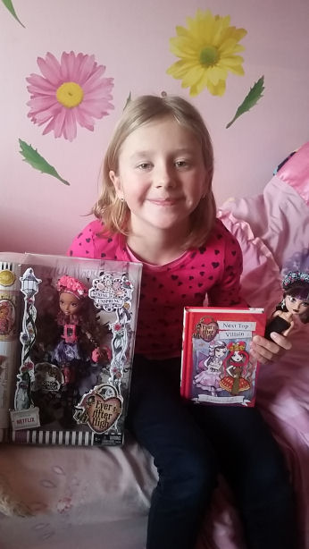 ever after high spring unsprung doll and book