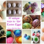"10 unique and fun ways to ""dye"" Easter eggs!"