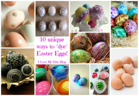 10 unique ways to dye easter eggs button blog