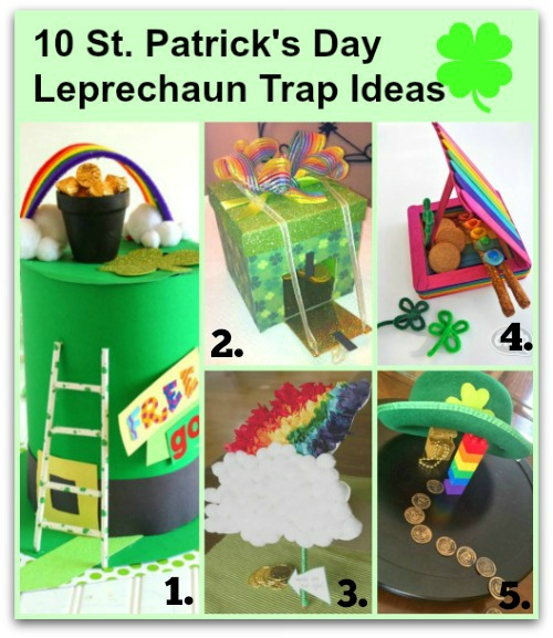 10 St. Patrick's Day Leprechaun Trap Ideas
