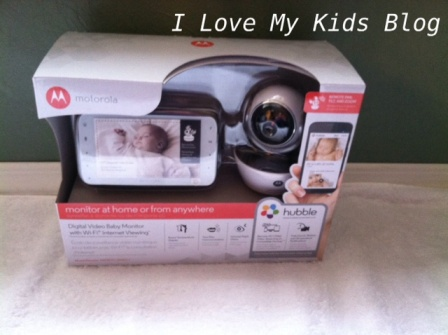 Motorolla video baby monitor MBP854 in package