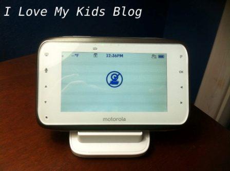 Motorolla video baby monitor MBP854  no camera sign