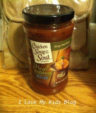 Chicken Soup for the soul meal builder meatloaf
