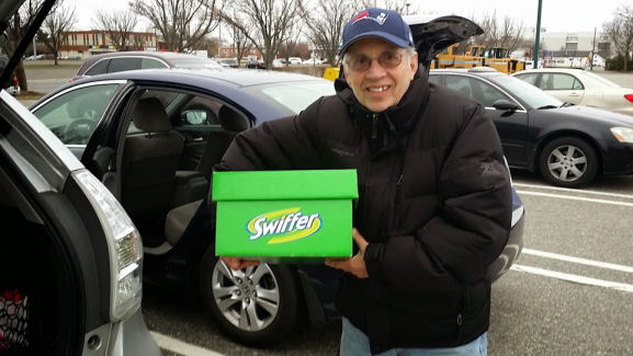 swiffer box to dad