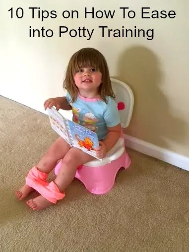 10 tips on how to ease into potty training