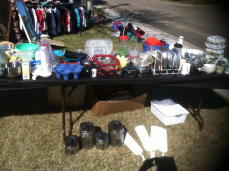 How to have the best yard sale ever advertise
