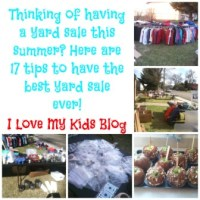 17 Tips on how to have the best yard sale ever!