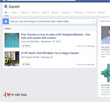 How to save links on facebook hack 4