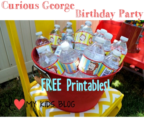 Curious George Birthday Party On A Budget LOTS Of Free Printables