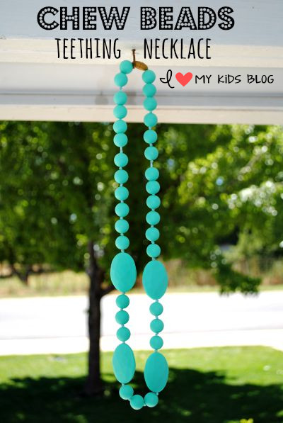Chewbeads Teething Necklaces are the perfect fashion statement for a Mamma with a teething baby! Review & Giveaway