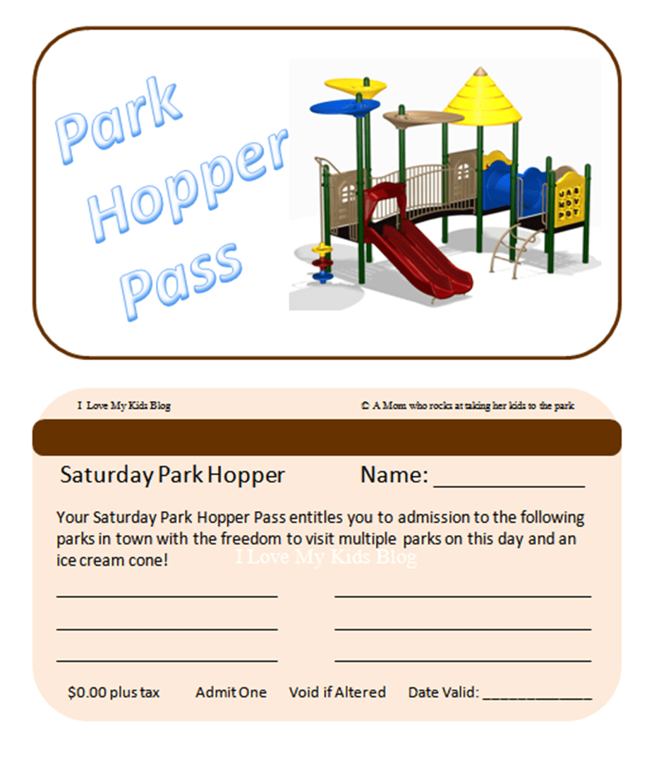 park hopper pass 1 printable