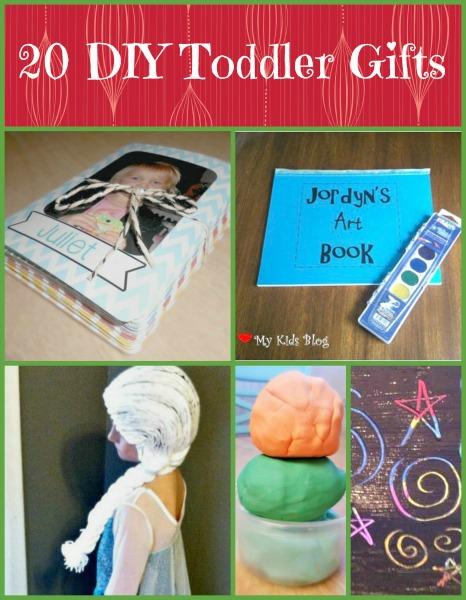 20 DIY Toddler Gifts