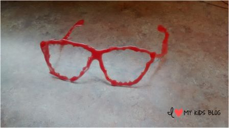 I Do 3D art pen glasses all done