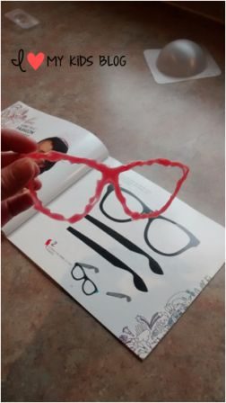 I Do 3D art pen glasses piece 1