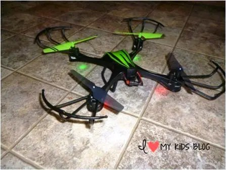 Sky Viper Drone powered on