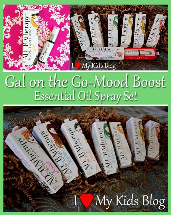 Gal on the Go Mood Boost Essential Oil Spray Set