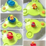 Bath Time Fun With the Stack N' Spray Tub Fountain from Yookidoo