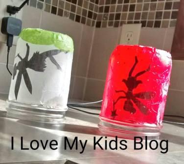 Fairy jar drying