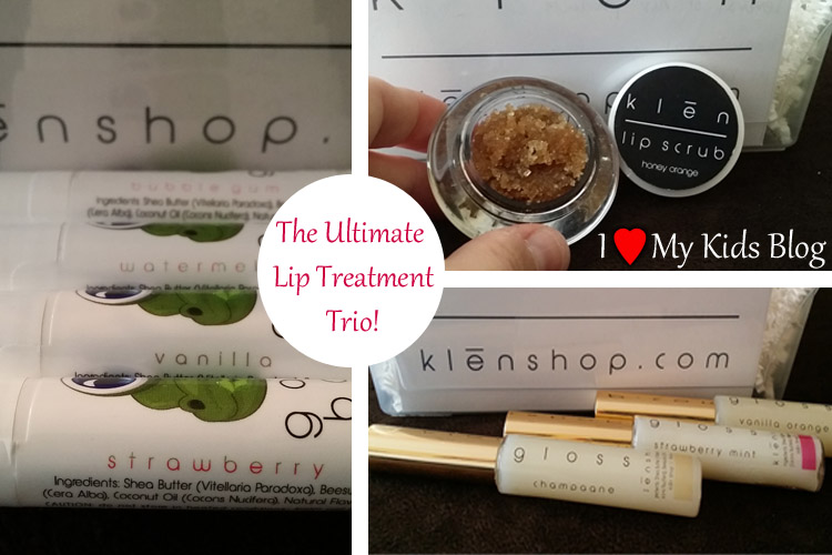 The Ultimate Lip Treatment Trio by Klen