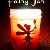 DIY Glowing Fairy Jar Craft For Kids!
