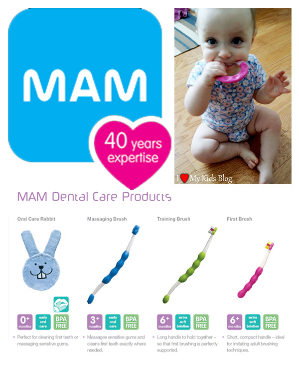 MAM Oral Care Products and Review