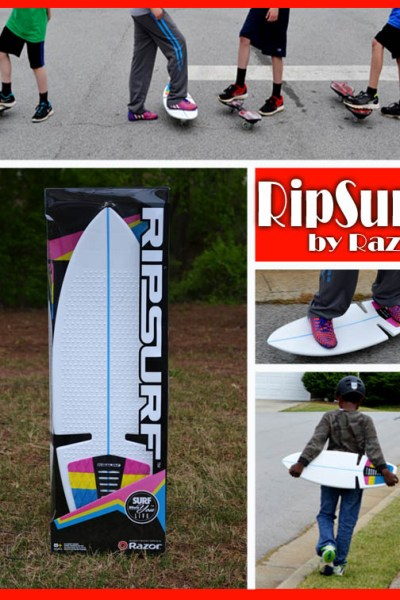 Surfing the Streets with the RipSurf by Razor – Review and Video