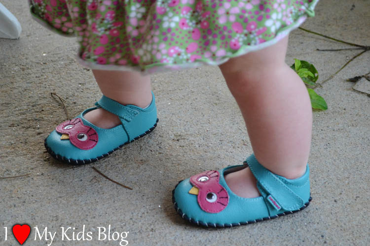 pediped cute infant shoe design