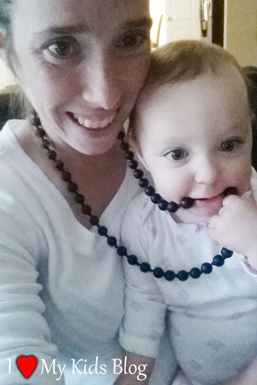 Mama and Little Teething Necklace