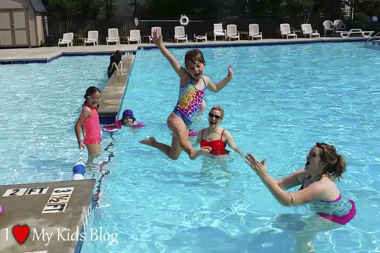 fasten swimsuit allow for fun