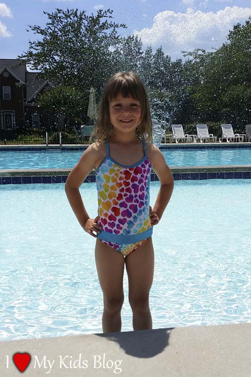 fasten swimsuit for toddlers