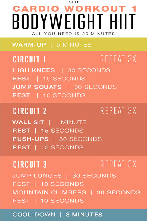 HIIT Cardio Workout